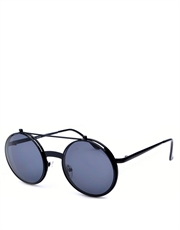 Kinder Cop Style Sunglasses, Black Frame / Smoke Lens