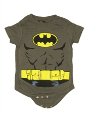 Batman Bodysuit, Batman Costume Grey Baby