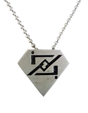 Smallville Zod Symbol Necklace