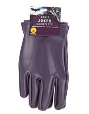 Dark Knight Costume Accessory, Mens Batman Joker Gloves