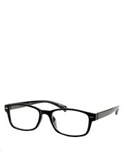 C Kent Cavill Style Sunglasses, Black Frame / Clear Lens