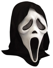 Scream Mask, Mens Scream Ghost Face Mask, Glow In Dark Mask