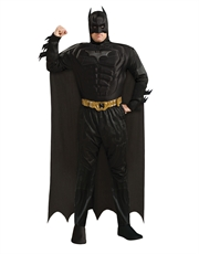 Dark Knight Rises Costume, Mens Batman Muscle Big Costume Style 2