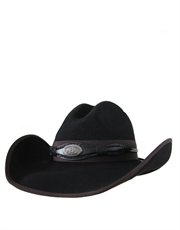 Toby Keith Western Cowboy Wool Felt Hat, Official, Black