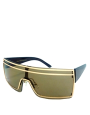 Gaga Sunglasses, Gaga Gold Brown Style 1