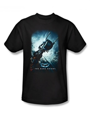 Batman T-Shirt, Batman The Dark Knight Bat Pod Black