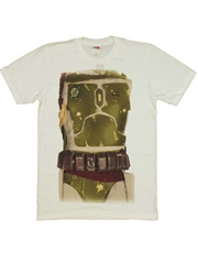 Star Wars T-Shirt, Star Wars Boba Fett Costume White