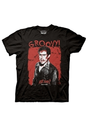 Army Of Darkness T-Shirt, Army Of Darkness Groovy Black