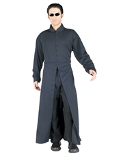 Matrix Reloaded Costume, Mens Neo Costume Style 1