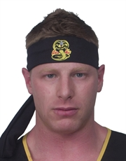 Karate Kid Costume Accessory, Mens Cobra Kai Headband