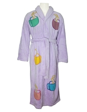 Tyler Style Dressing Gown Lilac Bathrobe