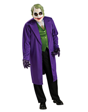 Dark Knight Costume, Mens Batman Joker Big Costume Style 1