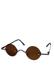 Teashade Sunglasses, Teashade Round Brown Style 8