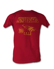 Back To The Future T-Shirt, Back To The Future Hoverboard 2015 Red