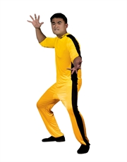 Bruce Lee Costume, Mens Game Of Death Jumpsuit Costume