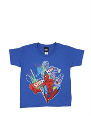Spiderman T-Shirt, Spiderman Kids T-Shirt, The Night Glow Blue