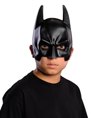 Dark Knight Rises Costume Accessory, Kids Batman 1/4 Mask