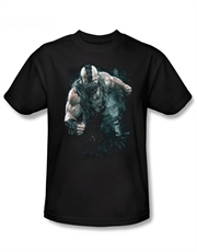 Bane T-Shirt, Bane Dark Knight Rises T-Shirt, Bane Rain Black