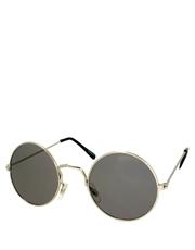 Teashade Sunglasses, Teashade Round Style 11, Silver Frame / Smoke Lens