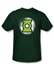 Green Lantern T-Shirt, Green Lantern Destroyed Green