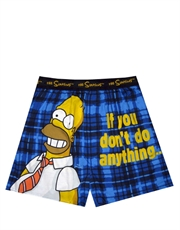 The Simpsons Homer Don't Do Anything Boxer Shorts