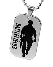 Battlefield 3 Dog Tag Necklace