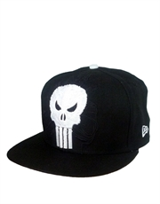 Punisher Logo Black Cap