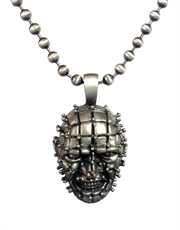 Hellraiser Pinhead Ball Chain Necklace