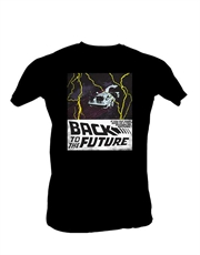 Back To The Future T-Shirt, Back To The Future Mind Black