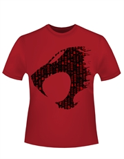 Thundercats T-Shirt, Thundercats Logo Red