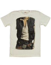Star Wars T-Shirt, Star Wars Call Me Han Solo Costume White