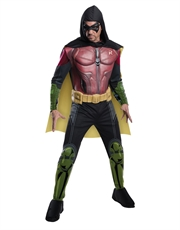 Robin Costume, Mens Arkham City Muscle Chest Outfit