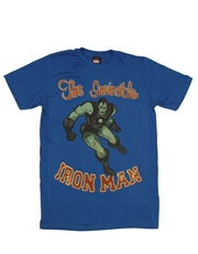 Iron Man T-Shirt, Iron Man Classic Blue