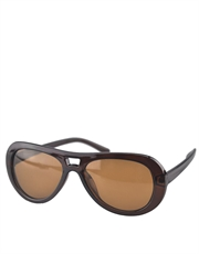 Big Lebowski Style Sunglasses, Mens Dude Shades, Tortoise Frame / Brown Lens