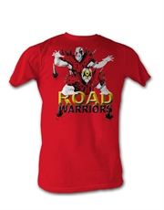 WWE T-Shirt, WWE Road Warriors Spikes Red