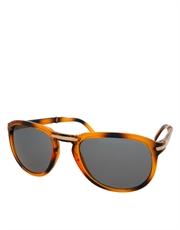 Thomas Crown Steve McQueen Style Sunglasses, Tortoise Frame / Smoke Lens