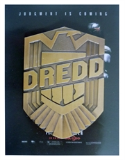 Judge Dredd Badge, 2012 Movie Promotional Badge SDCC