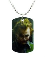 Batman Dark Knight Joker Cell Close Up Dog Tag Necklace