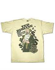 WWE T-Shirt, WWE Ted Dibiase Cream