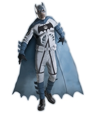 Batman Deluxe Zombie Costume, Mens Blackest Night Outfit