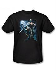 Batman T-Shirt, Bane T-Shirt, Dark Knight Rises T-Shirt, Battlefield Gotham Black