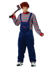 Chucky Costume, Mens Childs Play Chucky Costume