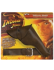 Indiana Jones Costume Accessory, Indiana Jones Belt, Gun and Holster