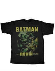 Batman T-Shirt, Robin T-Shirt, Batman And Robin Night Detectives Black