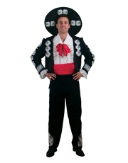 The Three Amigos Costume, Mens Amigo Costume