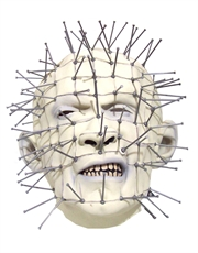Hellraiser Costume Accessory, Mens Pinhead Full Mask