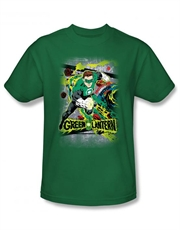 Green Lantern T-Shirt, Green Lantern Space Sector Green