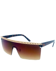 Gaga Sunglasses, Gaga Brown Gradient Style 3