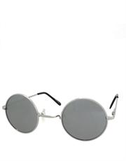 Teashade Sunglasses, Style 16, Silver Frame / Full Mirror Lens