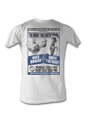 WWE T-Shirt, WWE Hulk v The Giant White
